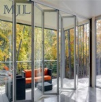 Australian Standard Hot Model Customized Size Aluminum Alloy Interior Folding Door